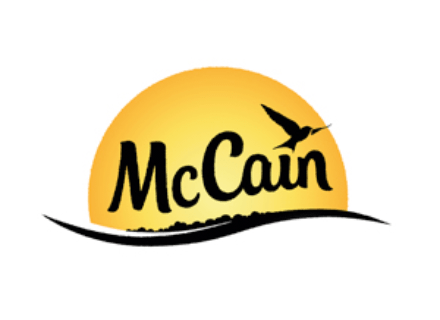The The McCain brand identity