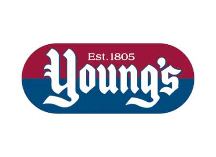 The Young's brand identity